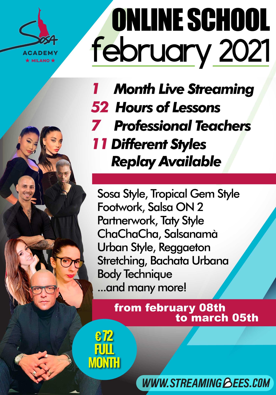 Sosa Academy online courses February 2021