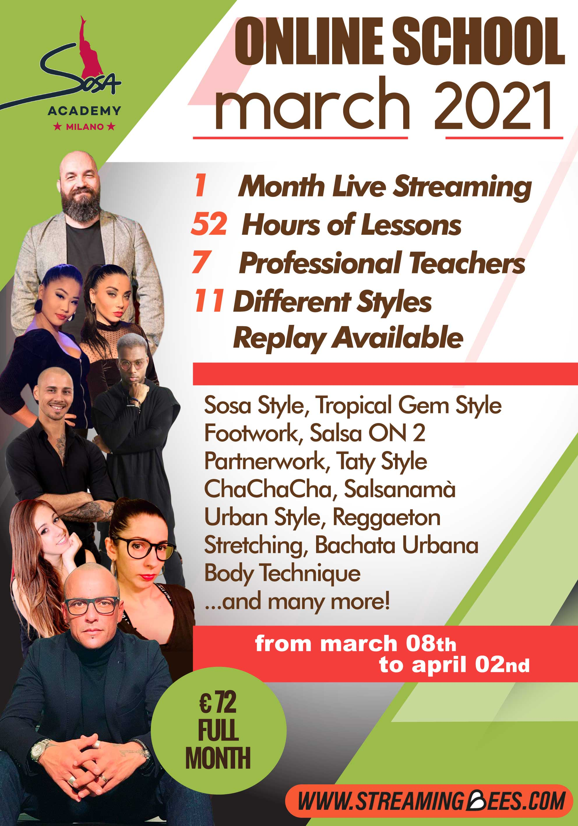 Sosa Academy online courses March 2021