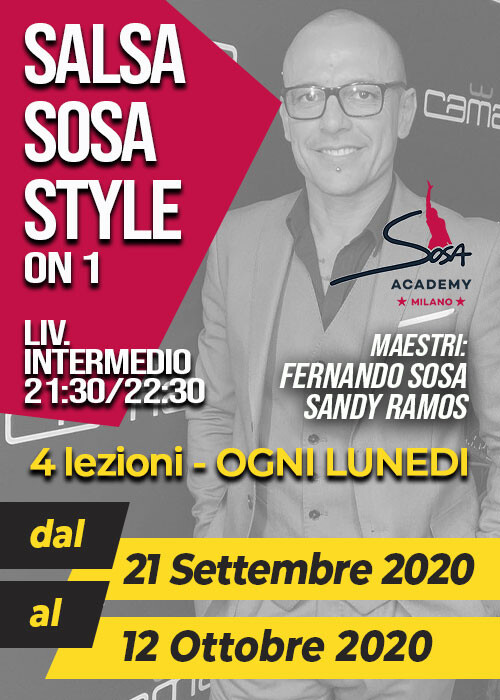 SOSA STYLE INTERMEDIO LUNEDì 21.30-22.30