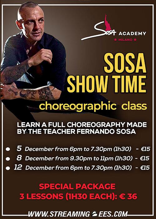 Sosa Show Time- Coreographic Class