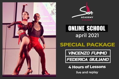 Salsa TG style Footwork & Partnerwork - liv. open
