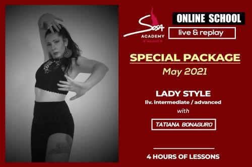 Tatiana Bonaguro Special package May 2021
